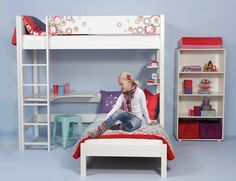 A lot of creative room solutions and practical concepts. We have collected all the room décor ideas and inspirations for girls' room, boys room and baby room. Kidsroom, Bunk Beds, Room Inspiration, Baby Room, Girls, Room Decor, Furniture, Youth, Inspired