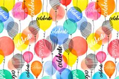Margaret Berg Art: Candy+Celebrate+Balloons