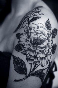 flower-tattoos-black-and-white-design.jpg 500×750 pixels