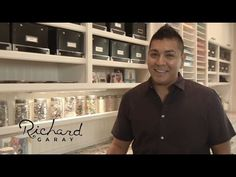 Craft Room Tour from Spellbinders Richard Garay