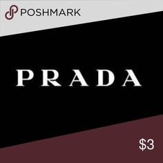 GREAT ACCESSORIES FROM PRADA AMAZING PRICES ON ALL OF YOUR FAVORITE BRANDS! MICHAEL KORS, COACH, KATE SPADE, DOONEY & BOURKE, VERSACE, PRADA, GUCCI AND MUCH MORE! the $3 is for listing purposes only. This ad must have a price to list. Please do not purchase this ad Prada Accessories