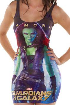 Galaxy Fantasy: Nueva colección de ropa de Los Guardianes de la Galaxia