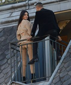 Kendall Jenner joined Balmain's creative director, Olivier Rousteing, for a stunning photoshoot at Le Grand Hotel in Paris on Thursday - moments after stunning runway show during PFW Olivier Rousteing, Kendall And Kylie Jenner, Kardashian Jenner, Balmain, Autumn Fashion, Paris Fashion, Style Icons, Normcore, Photoshoot