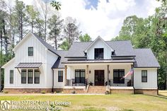This Modern Farm House gives you 4 beds and 3.5 baths and has a bonus room with a full bath over the garage. Inside, it has volume ceilings throughout the first floor, lots of storage, and large open living concept with large front porch. Coming in from the front porch you are greeted by a large open living space with views into the kitchen, dining , and rear porch. The kitchen provides amazing counter space and storage, a large island with seating, separate cooktop and oven, and large…