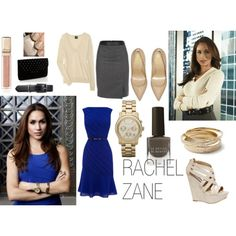 rachel zane, rachel from suits, rachel zane outfit, nice car, shoes, heels, classy, glamour, glamouritems.com, blue dress, office wear