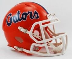 NCAA Florida Gators Speed Mini Helmet by Riddell. $25.98. The New Riddell Florida Gators Speed Replica Mini Helmet.