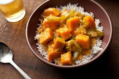 Thai Red Curry with Kabocha Squash Recipe