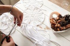 Crochet doilies, dreamcatchers #owoceszycia