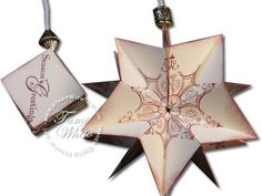 Pop Up WOW Ornament - Stampin' Up on Vimeo