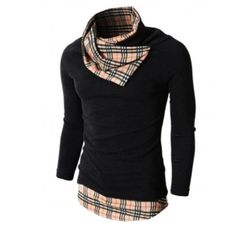 mens shirt DOUBLJU / like the collar of shirt