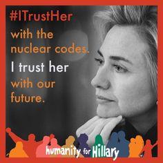 Yes, her. #NeverEverTrump!