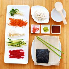 Fresh sushi recipes and foolproof directions to get your party rolling