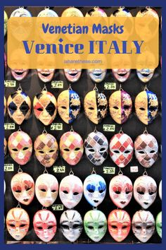 Travel bucket list destinations venice italy Ideas for 2019 Europe Destinations, Bucket List Destinations, Things To Do In Italy, Italy Travel Tips, Venetian Masks, Visit Italy, European Travel, Euro Travel, Cinque Terre