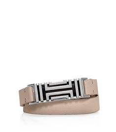 TORY BURCH FOR FITBIT FRET DOUBLE-WRAP BRACELET
