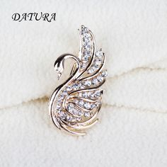 2 color Europe and the United States jewelry fashion Lovely Crystal Swan Leopard exaggerated jewelry Brooch Pins For Women-in Brooches from Jewelry & Accessories on Aliexpress.com | Alibaba Group