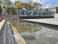 National WWI Memorial Debuts in Washington, D.C. | Smart News | Smithsonian Magazine American Indian Wars, Mexican American War, National Mall, National Parks, Sculpture Stand, Global Conflict, National Cemetery, Memorial Park, World War One