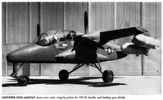 Lockheed proposal for the LARA (Light Armed Reconnaissance Aircraft), competition won by the OV-10 Bronco