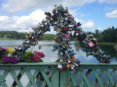 River Locks by Tom Foley