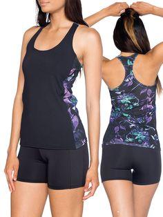 Midnight Hummingbird Combat Top (US $50USD) by Black Milk Clothing