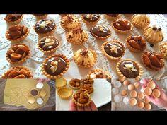 هاهو جديد2020👌بدون مولات او قوالب حضري ميني تارت متقونة دون اعوجاج كمية كبيرة وبسرعة/أبهرت ضيوفي - YouTube Mini Pastries, Mini Tart, Party Desserts, Mini Cupcakes, Cookie Recipes, Biscuits, Deserts, Muffin, Food And Drink