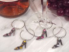 Dazzling Divas Collection High Heel Shoe Wine Charms - See more at: http://www.hotref.com/dazzling-divas-collection-shoe-wine-charms-p-22484.html#sthash.Ls19O12S.dpuf