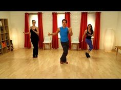 Prep for your next holiday party by dancing in your own living room. Burn some calories and shake your hips with Louis Van Amstel of Dancing With the Stars. This 10-minute workout features dances, like the cha-cha and merengue, from his LaBlast Fitness DVD series. Put on your dancing shoes, press play, and get ready to trip the light fantastic. ...