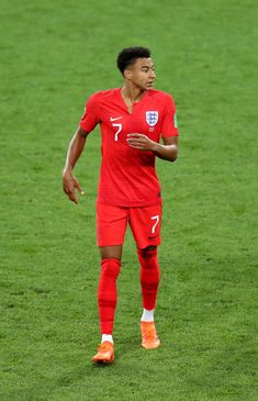 88e0334a9 Jesse Lingard Photos - Jesse Lingard of England looks on during the 2018  FIFA World Cup Russia Round of 16 match between Colombia and England at  Spartak ...