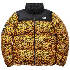 Supreme x The North Face Fall Winter 2011 Leopard Print Down Jacket Bag  Nordwand Nuptse cacd29ab2