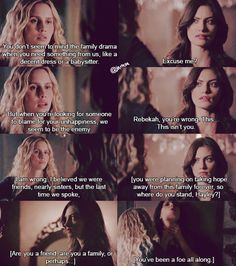 The Originals, rebekah mikaelson, and hayley marshall image