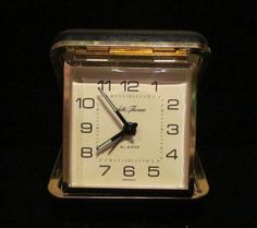 Remember these travel alarm clocks?