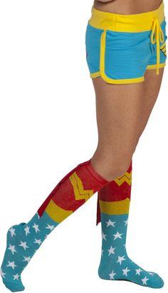 DC Comics Wonder Woman Boy Shorts (Product Number: DCCOM373), $20 via 80sTees.Com