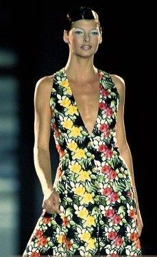 Linda Evangelista - Gianni Versace 1993