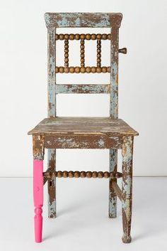 Oude stoel...verschillende