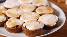 S'mores Cookie Cups  - Delish.com