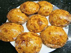 No soy un blog de cocina: EMPANADILLAS RELLENAS DE ATÚN Y HUEVO, hechas al horno