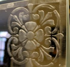 How to Etch a Mirror ... Add Etching Paint to a Plain Mirror for an Easy/Inexpensive Upgrade