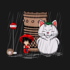 MY NEIGHBOR KARIN T-Shirt - Dragon Ball T-Shirt is $11 today at Ript!