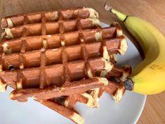 Banane-Skyr-Waffeln: Gesunde Waffeln ohne Zucker - OptiGrill Rezepte