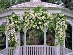 wedding gazebo decorations   Arches Huppas Candelabras & Stands Columns & Colonnades Silk Decor