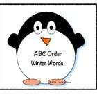 {{FREEBIE}} Penguin ABC Order Cards.    Grammar, Spelling, Winter   Grade Level(s): Pre-K, Kindergarten, First, Second.   These cards are themed with penguins that could fit into any penguin or winter unit of study. I have also included a recording sheet to provide a formative assessment after the student has completed the activity.