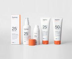 Before & After: Daylong TODA's redesign of Daylong, one of Switzerland's leading brands in sun protection. TODA's New York office collaborated Medicine Packaging, Bold Typography, Swiss Design, Cosmetic Design, Change Maker, Branding, Design Language, Beauty Packaging, Packaging Design Inspiration
