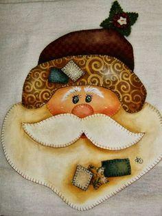 Christmas Yard Art, Christmas Applique, Felt Christmas Ornaments, Christmas Sewing, Christmas Scenes, Christmas Love, Country Christmas, Christmas Projects, Handmade Christmas