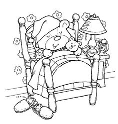 teddy bear coloring pages | Teddy Bear Coloring Pages For Kids. Print and Color the Pictures