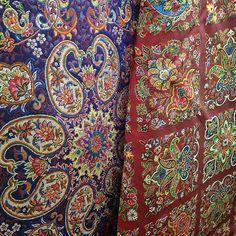 Termeh, Handcraft of YAZD - IRAN ترمه مهر نیکوی یزد