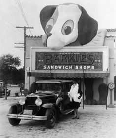 Barkie's Sandwich Shop, Los Angeles, c.1927