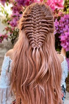 Mesmerizing Combo Lace and French Braids ❤ #lovehairstyles #hair #hairstyles #haircuts