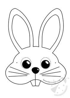 Animal masks for children to print and cut out - milena Animal Mask Templates, Printable Animal Masks, Animal Activities, Activities For Kids, Crafts For Kids, Insect Crafts, Nature Crafts, Drawn Mask, Unicorn Mask