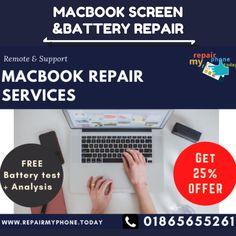 We are leading MacBook Repair Services for Apple Mac Repair in Oxford and Apple Mac support in the UK. We offer a full range of repairs services for Apple Macs.   Call- 018 656 55261, Email- info@repairmyphone.today  #MacBookrepairoxford, #MacBookrepairnearme, #Macbookrepairservices, #MacbookBatteryreplacement, #MacbookScreenrepair, #MacBookairscreenrepla