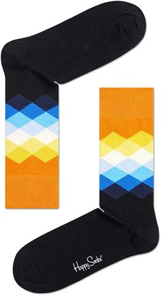 Happy Socks Men's Fade Diamond Blue/Orange/Multi, Multicoloured, 41-46: Amazon.com.au: Fashion Happy Socks, Blue Orange, Amazon, Diamond, Fashion, Moda, Amazons, Riding Habit, Fashion Styles