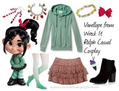Cosplay Every Day: casual cosplay Vanellope - Wreck it Ralph